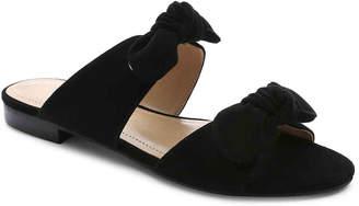 Gunmetal Bonya Flat Sandal - Women's