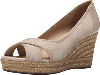 Geox Women's D Soleil Espadrille Wedge Sandal