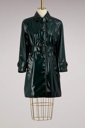 Prada Vinyle trench coat
