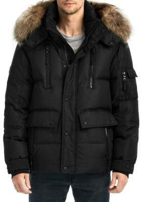 SAM. Coyote Trim Lodge Puffer Jacket