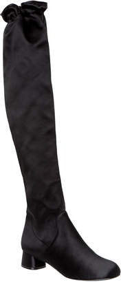 Max Studio app : silk satin knee-high boots