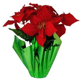 The Holiday Aisle Poinsettia Pot