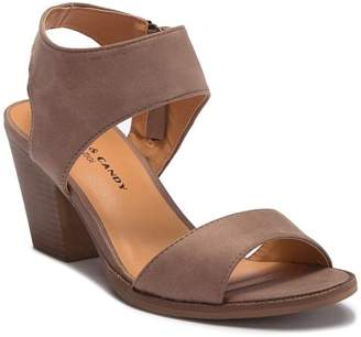 Rock & Candy Aleeya Open-Toe Stack Heel Sandal