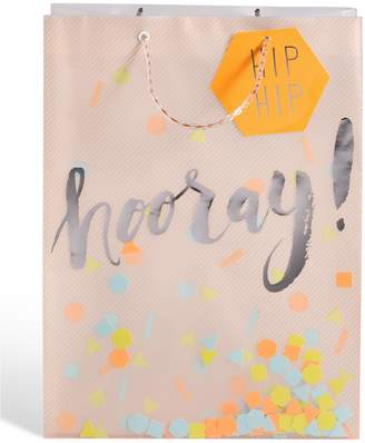 Marks and Spencer Translucent Confetti Large Gift Bag