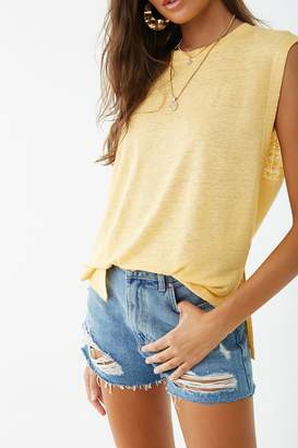 Forever 21 Linen Muscle Tee