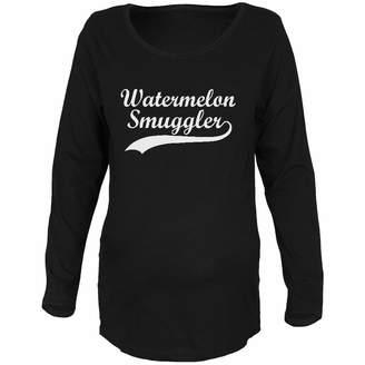 Old Glory Watermelon Smuggler Maternity Soft Long Sleeve T-Shirt