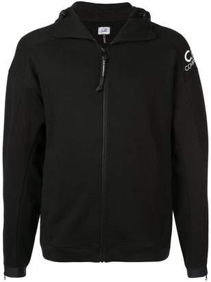 C.P. Company zipped goggles hoodie