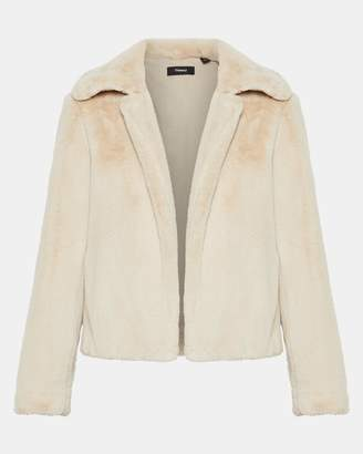 Theory Faux Fur Luxe Jacket