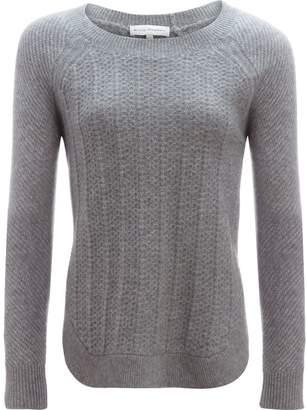 White + Warren Luxe Stitch Crewneck Sweater - Women's