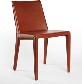 Rejuvenation Huber Italian Leather Chair