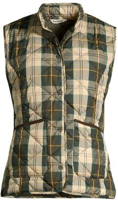 Barbour Modern Country Hartan Quilted Plaid Vest