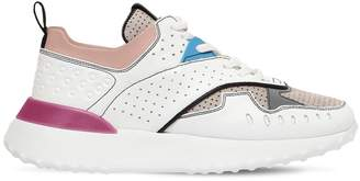 Tod's 40mm Perforated Leather Sneakers