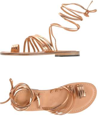 Annarita N. Toe strap sandals - Item 11209502RF