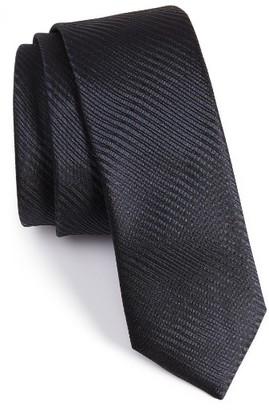 Men's Boss Subtly Striped Silk Tie $95 thestylecure.com