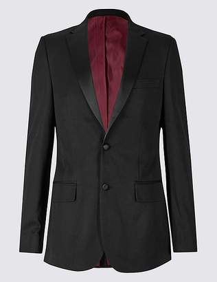 Marks and Spencer Black Slim Fit Dinner Jacket
