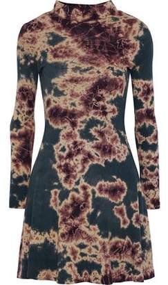 Kain Label Mia Tie-Dyed Cotton-Jersey Mini Dress