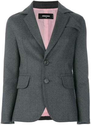 DSQUARED2 notched lapels blazer