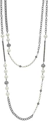 Simply Vera Vera Wang Simulated Pearl & Bead Long Necklace