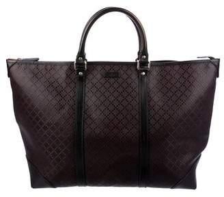 Gucci Medium Diamante Top Handle Tote