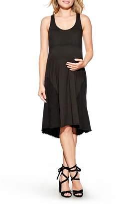 Maternal America High/Low Maternity Tank Dress