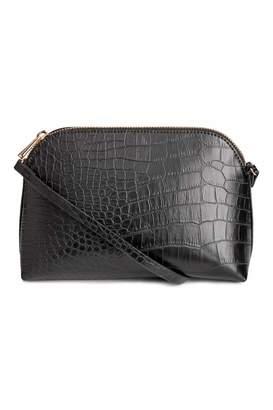 H&M Shoulder Bag - Black/grained - Women