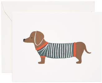Rifle Paper Co. Dachshund Greeting Cards (Set of 8)