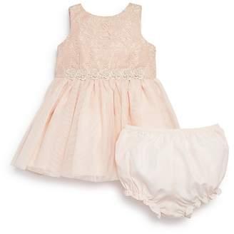 Pippa & Julie Girls' Lace Tutu Dress & Bloomers Set - Baby