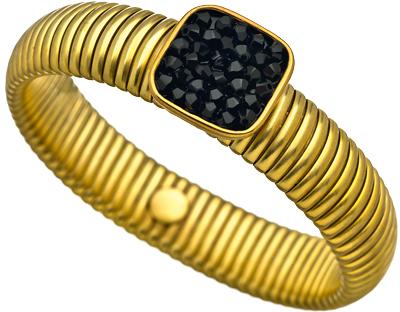 Liz Palacios Black Glitz Bracelet