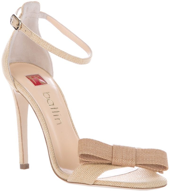 Ballin bow front sandal