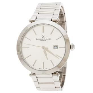 Bernhard H Mayer Silver Steel Watches