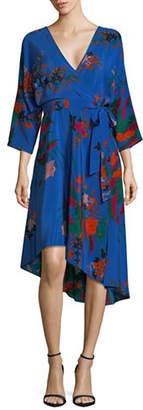 Diane von Furstenberg Eloise Silk Wrap Dress