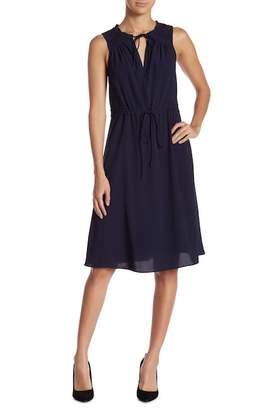 Gilli Drawstring Midi Dress