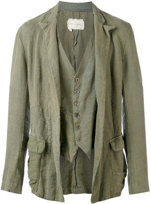 Greg Lauren draped jacket