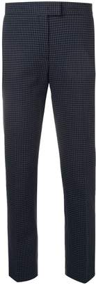 Paul Smith cropped check print trousers