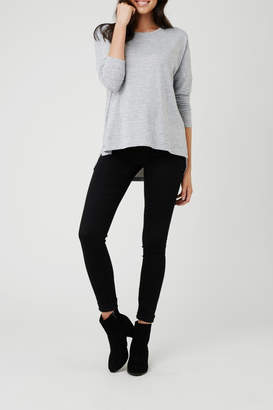 Ripe Maternity Lightweight High-Low Sweater