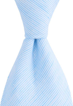 Vineyard Vines Linen Stripe Shirting Tie