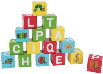 The Very Hungry Caterpillar Wooden Blocks.