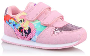 George My Little Pony Pink Glitter Trainers