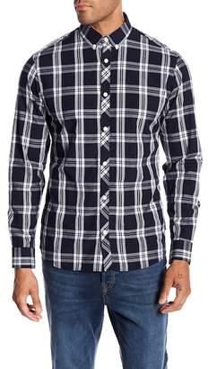 Jack and Jones Thomas Plaid Print Slim Fit Woven Shirt