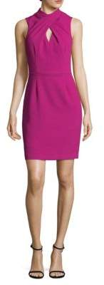 Trina Turk Contessa Keyhole Sheath Dress