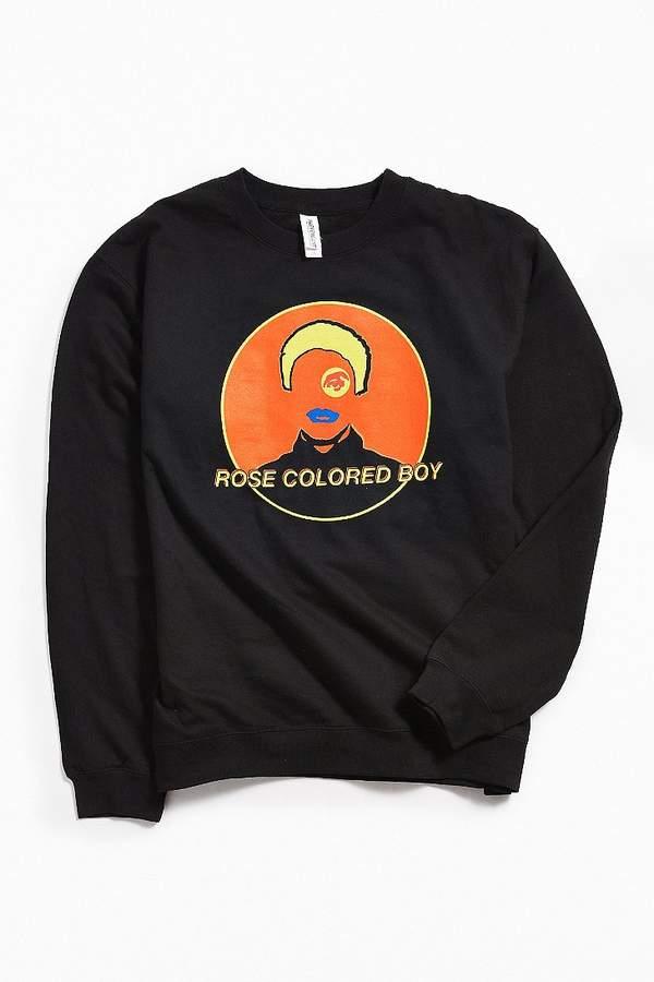 Paramore Rose Colored Boy Crew Neck Sweatshirt