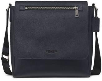 Kennedy Crossgrain Leather Map Bag