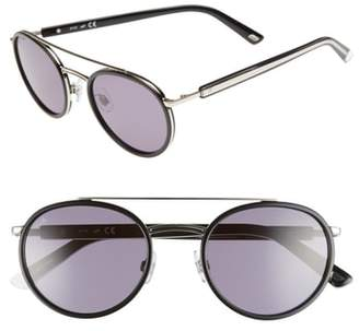 Web 52mm Aviator Sunglasses