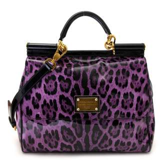 142721cd1d46 Dolce   Gabbana Purple Leather Bags For Women - ShopStyle UK
