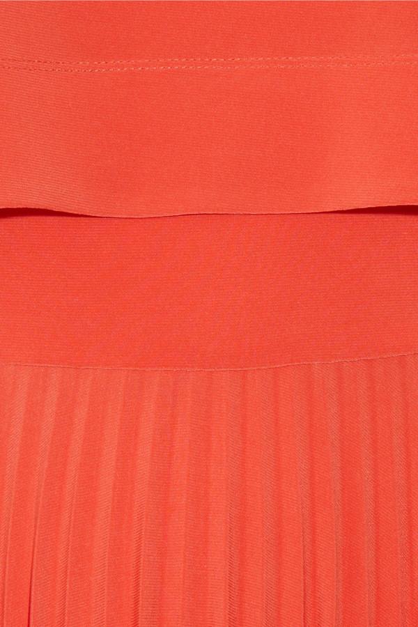 Zac Posen Z Spoke by Pleated jersey-crepe dress
