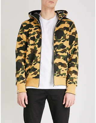 A Bathing Ape Camouflage-print reversible cotton-jersey hoody