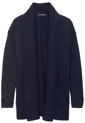Banana Republic Bouclé Coatigan Sweater