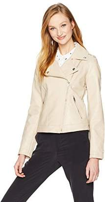 Steve Madden Women's Faux Leather Jacket