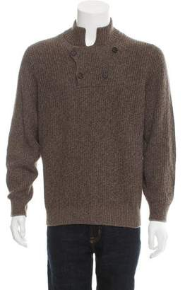 Brunello Cucinelli Cashmere Rib Knit Sweater w/ Tags