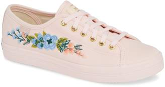 Keds R) x Rifle Paper Co. Kickstart Embroidered Sneaker